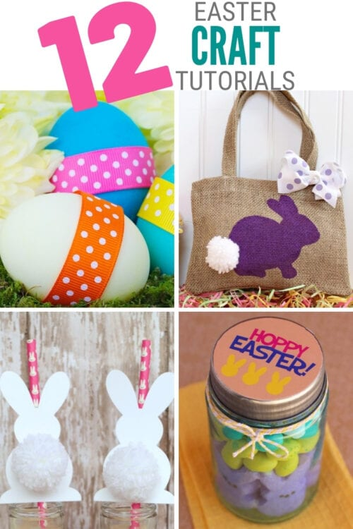title image for 12 Fun and Easy Easter Crafts