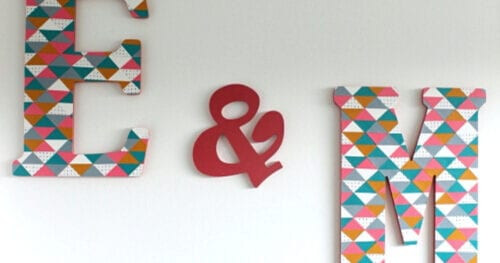 geometric monogram letter decor 27