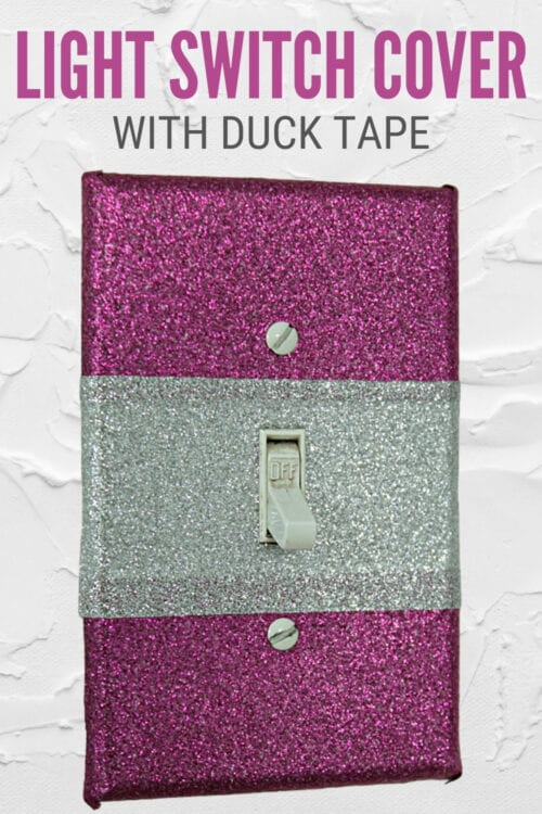 title image for How to Decorate a Light Switch Cover with Duck Tape