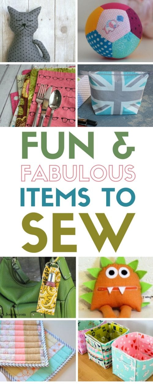 Items to Sew | Sewing Tutorial Ideas | Free Pattern | Fabrics | DIY