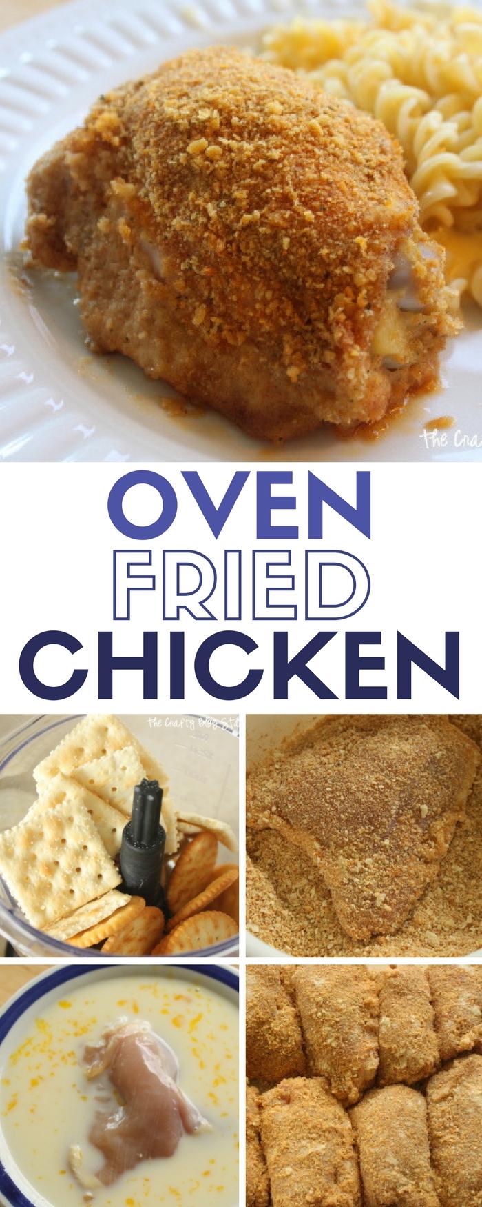 Oven Fried Chicken | Dinner Recipe | Tenders | Thighs | Drumsticks | Wings |