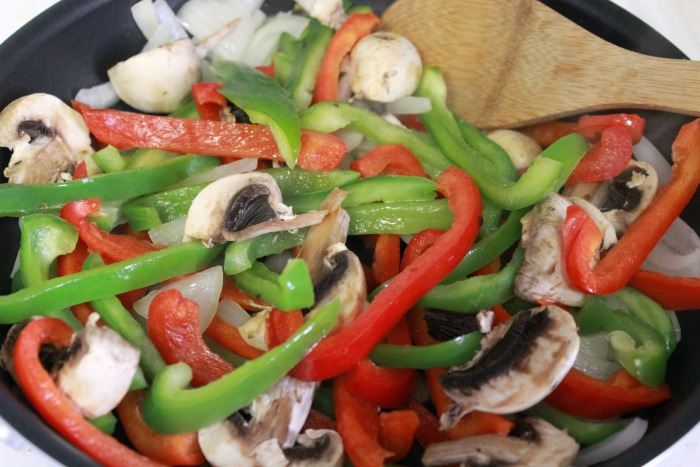 Chicken Fajita Vegetables