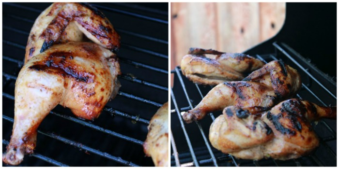 Grilled Cornish Hens with Chicken Marinade