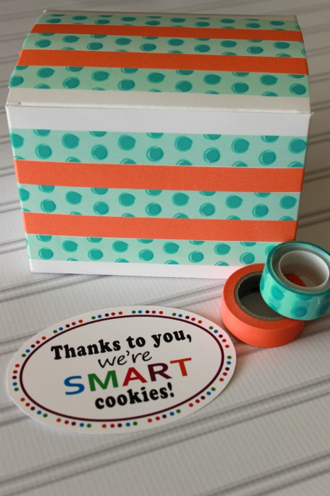 Teacher gift supplies