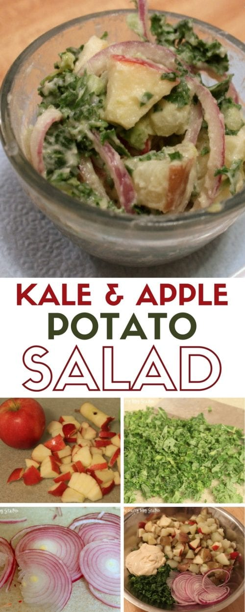 Kale & Apple Potato Salad Recipe | Miracle Whip | Summer Barbecue | Pot Luck | #ad