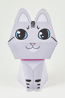 image of Nala the Paper Cat