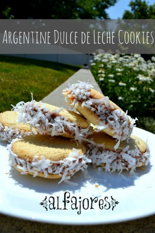 How to Make Argentine Dulce De Leche Cookies | Alfajores | Dessert | Coconut | Sandwich Cookie | Easy DIY Recipe Tutorial Idea