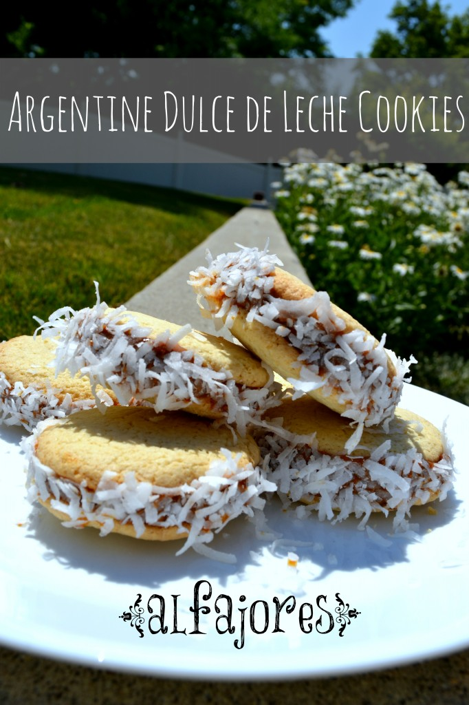 Argentine Dulce De Leche Cookies are a delicious Argentinian cookie. This easy to follow cookie recipe will become one you make over and over again.