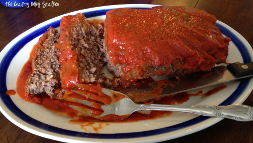 How to Make the Best Meatloaf with Traditional Pasta Sauce, featured by top US craft blog, The Crafty Blog Stalker.