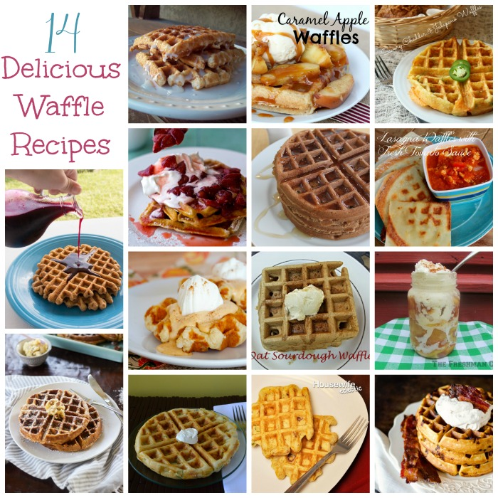 14 Delicious Waffle Recipes
