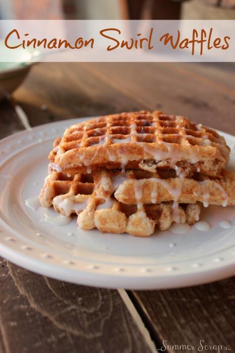 Cinnamon Swirl Waffles