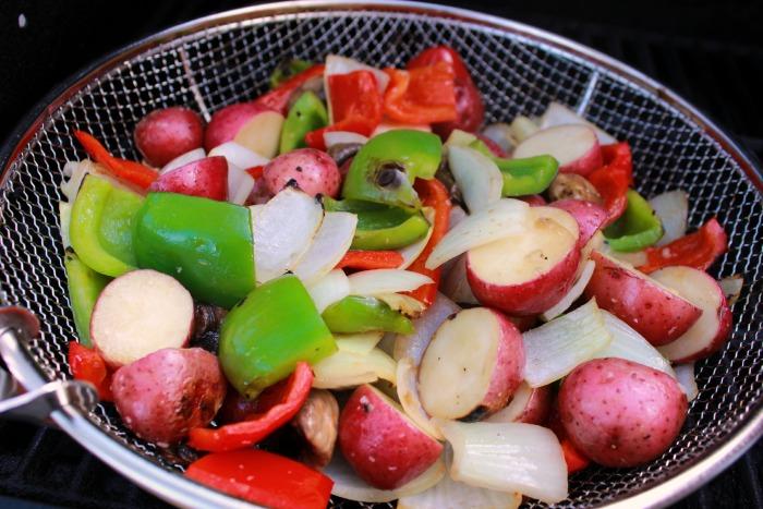 Grilled Vegetables done