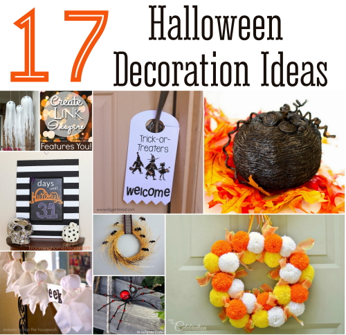 A collection of fun, cute and scary Halloween Decoration Ideas. Get ready for your Halloween Party and trick or treaters.