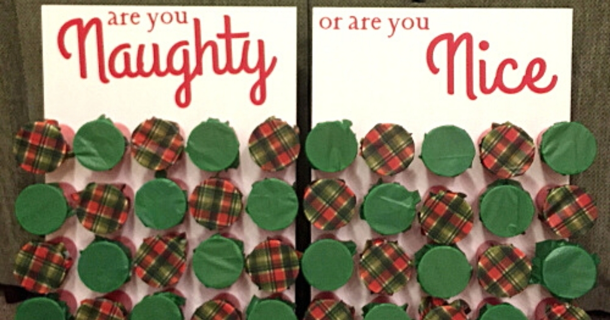 Family Card Game Will You be The New Santa Naughty Xmas Family Game Christmas