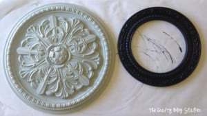 How to Make Painted Medallions Wall Decor