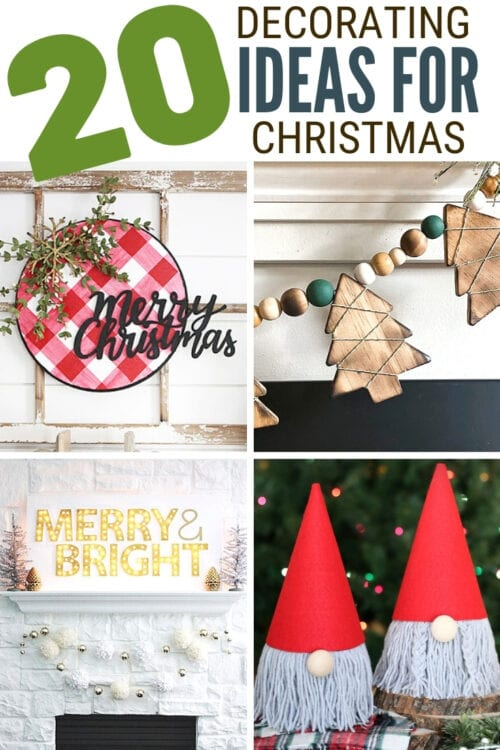 title image for 20 DIY Decorating Ideas for Christmas