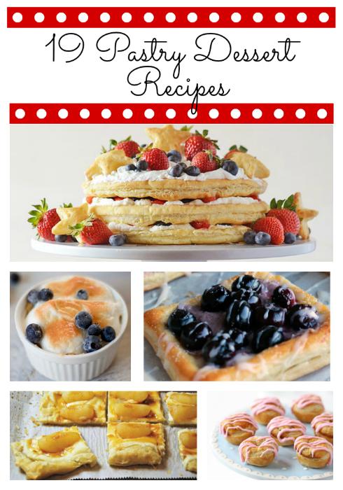 19 Pastry Desserts Roundup | Summer Scraps