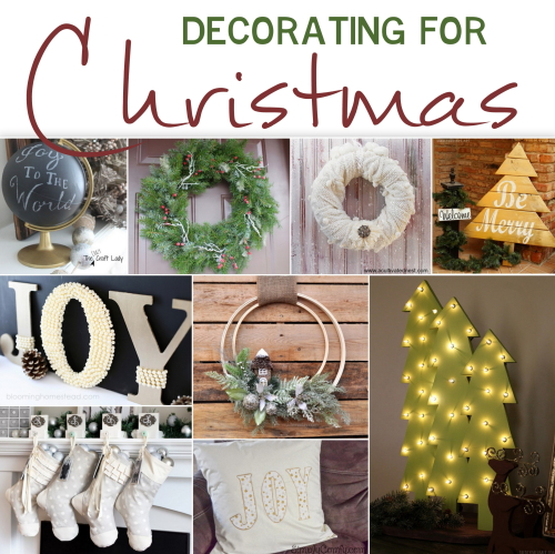 Check out these Christmas decorating ideas and dress your home in the Holiday home decor. All ideas are DIY and are projects that you can do!