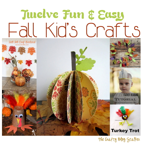 12 Fun and Easy Fall Kid's Crafts