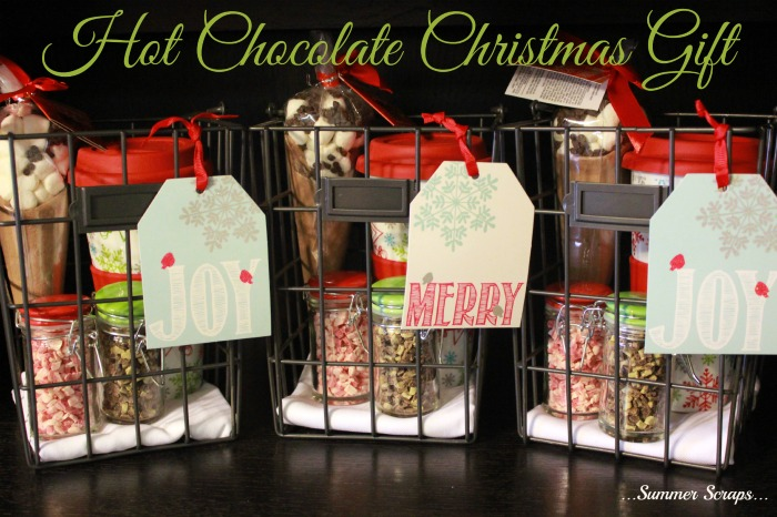 Hot Chocolate Christmas Gift Idea - Food Crafts and Family
