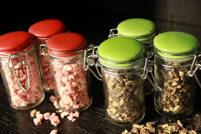 chocolate jars