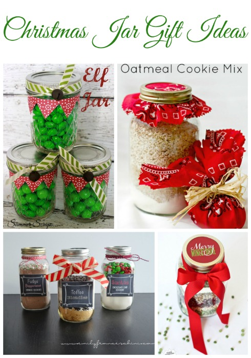 Christmas Jar Gift Ideas