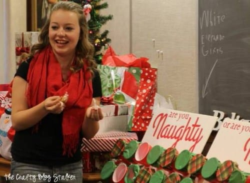 Naughty or Nice Christmas Game featured by top US craft blog, The Crafty Blog Stalker.