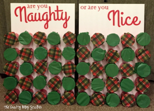 Naughty or Nice Christmas Game - The Crafty Blog Stalker