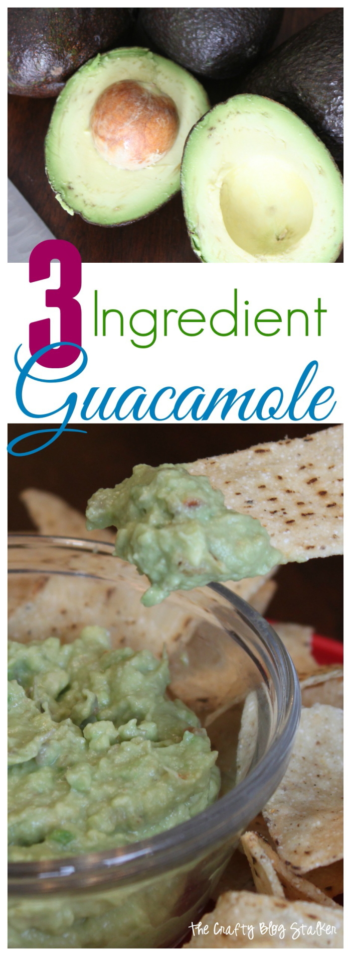 header image for How to Make Guacamole Dip with only 3 Ingredients avocados, salsa, sour cream