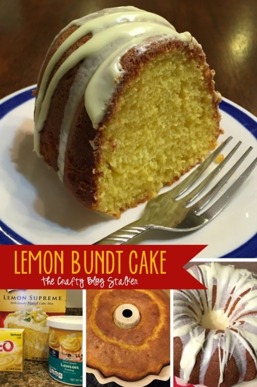 This is the perfect recipe for your next gathering. You and your friends will LOVE this delicious Lemon Bundt Cake Recipe!