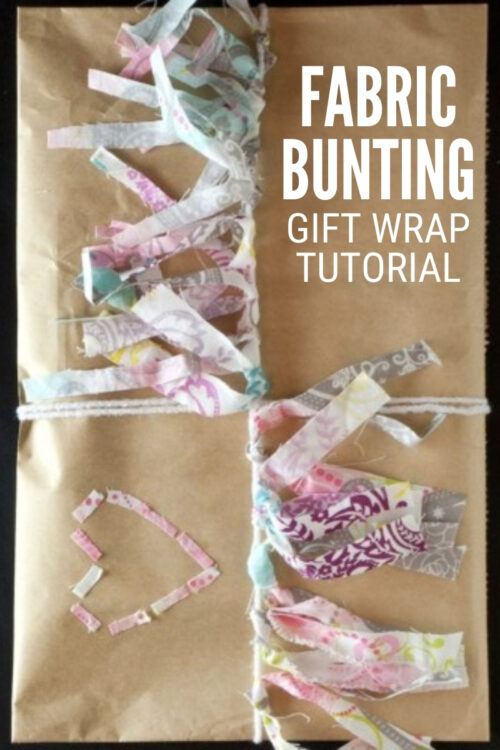 title image for How to Make Creative Gift Wrapping with Fabric Bunting