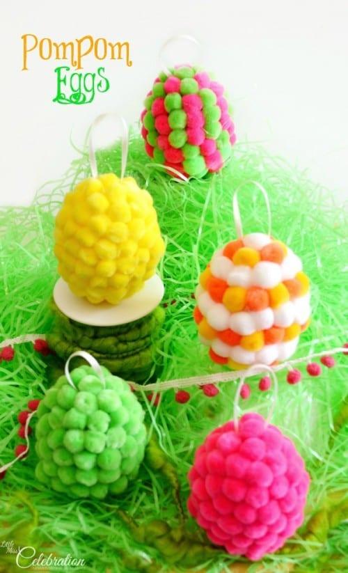 Pom Pom Eggs
