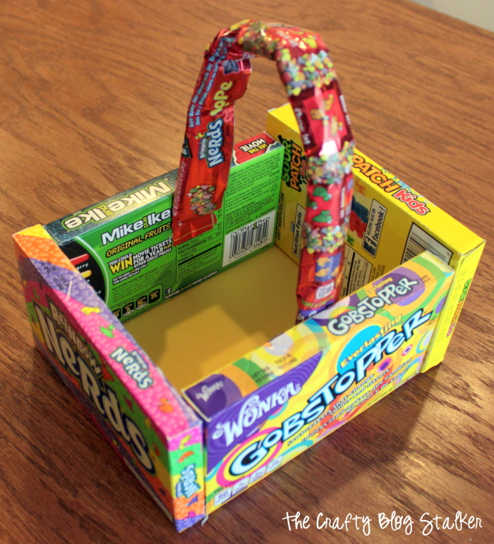 Make a Candy Easter Basket this Easter holiday for your friend, grandchild or your own child! A simple DIY that you can create in less than 30 minutes!