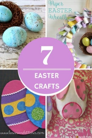 Look for a fun new Easter craft? How about an Easter Wreath, easter eggs, easter bunny, fabric carrots or Easter Egg Placements? Find them all here!