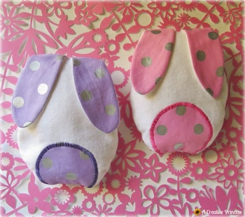 pink and purple boo boo bunnies