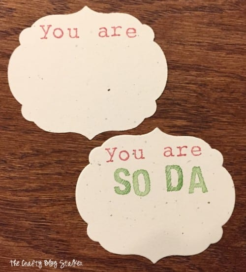 SoDa Bomb Gift Tags| Tutorial | Handmade Gifts | DIY | Paper Crafts