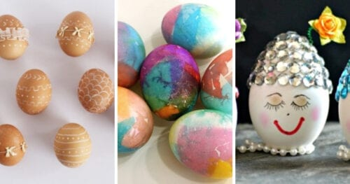 decorate easter eggs crafts 1 1