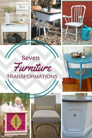 Do it yourself furniture transformations. Furniture refashion is easier than you may think. See 7 beautiful furniture projects to get you started!