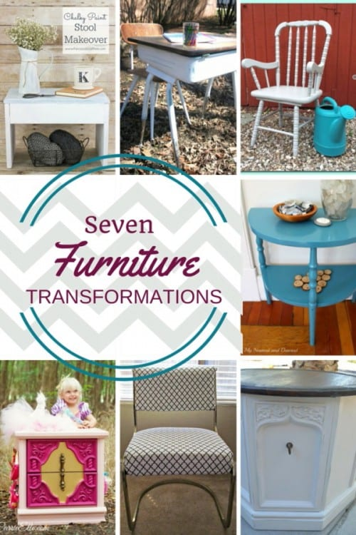 7 Beautiful Furniture Transformations Projects