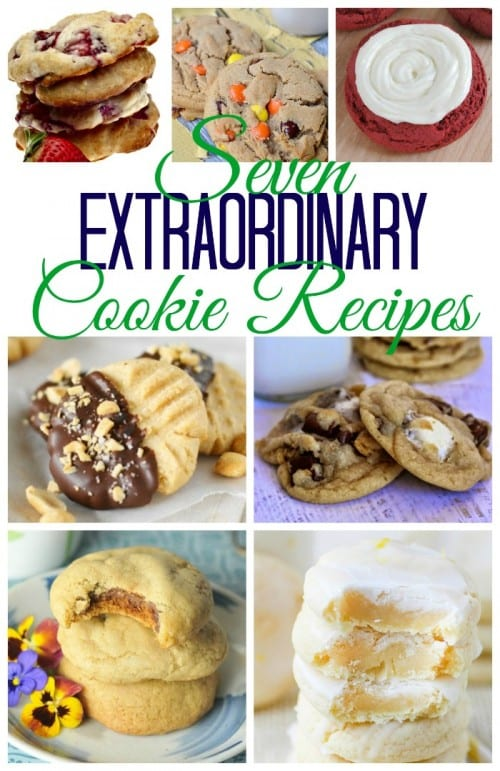 Chocolate Chip cookies are great, but let your taste buds explore with these 7 extraordinary cookie recipes. You'll definitely need one for each hand.