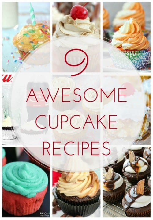 9 totally awesome cupcake recipes. These are definitely gourmet cupcakes, so don't buy them when you can make them yourself! Which one will you make first?