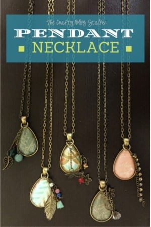 DIY Jewelry Pendant Necklace