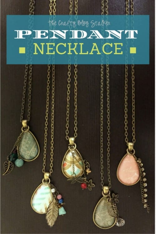Pendant Necklace | DIY Jewelry | Handmade | easy craft tutorial idea | Fashion