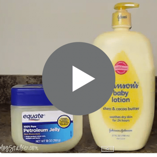 This lotion recipe is the best lotion I have ever put on my skin. Super soft and not at all greasy. Watch a video tutorial to see how easy it is to make.