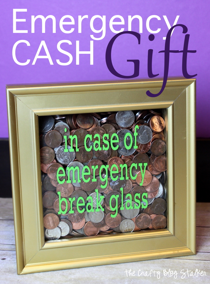 Emergency Cash Gift The Crafty Blog Stalker