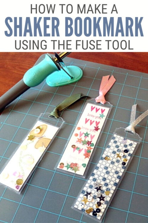 title image for How to Make a Shaker Bookmark with the Fuse Tool