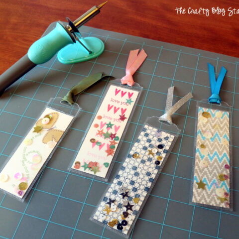 How to Make a Shaker Bookmark with the Fuse Tool