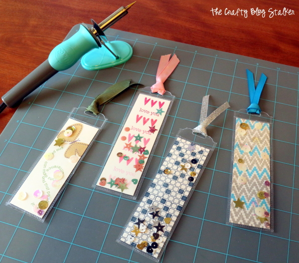 Fuse tool bookmark tutorial the crafty blog stalker for Cool ways to make bookmarks