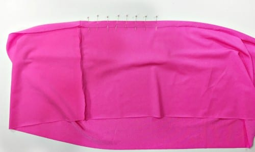 Follow this tutorial to sew a Swim Skirt Cover Up for babies and girls up to size 12. This is an easy sew project that you can quickly create.