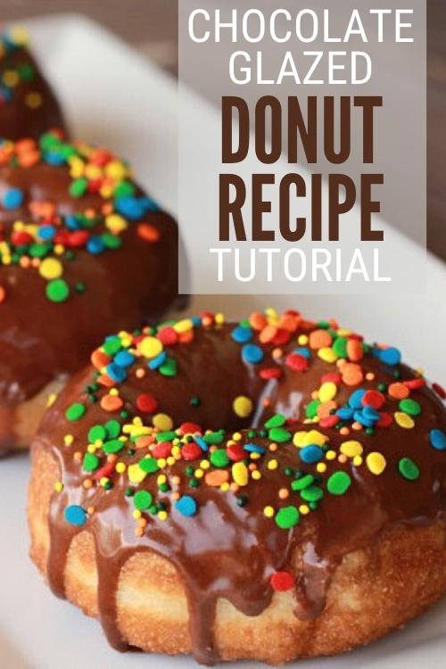 chocolate glazed donut recipe
